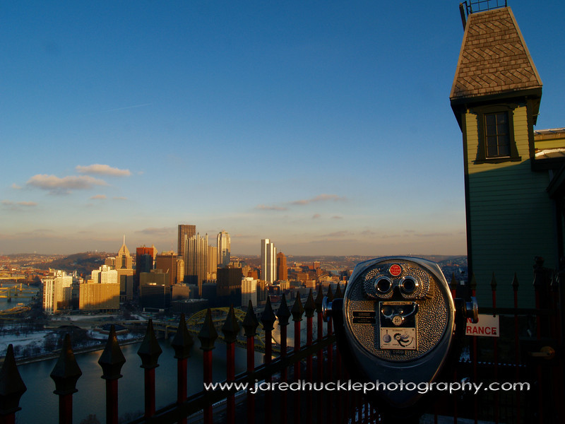 Downtown Pittsburgh from the Duquesne Incline