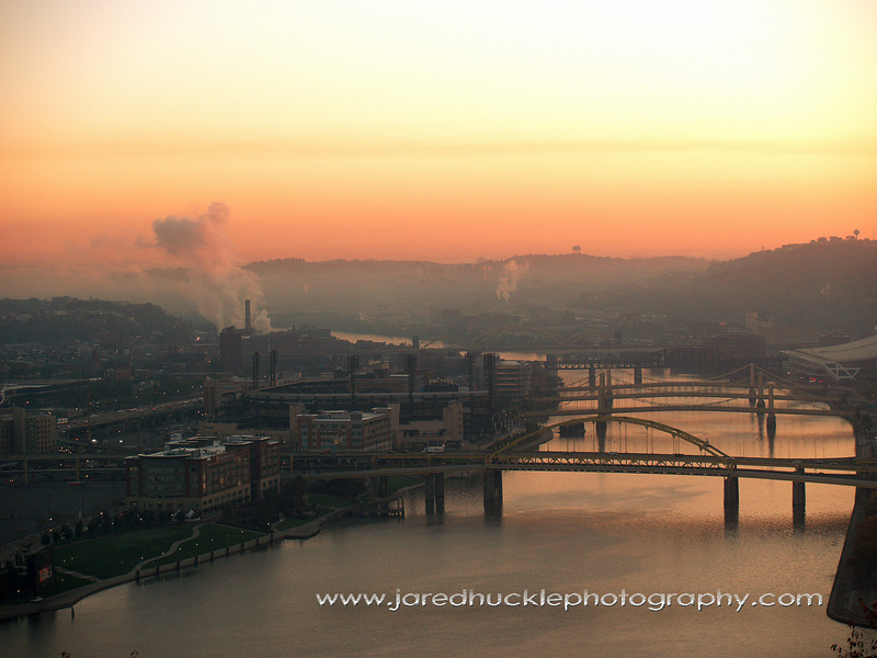 The Allegheny River valley, Pittsburgh PA