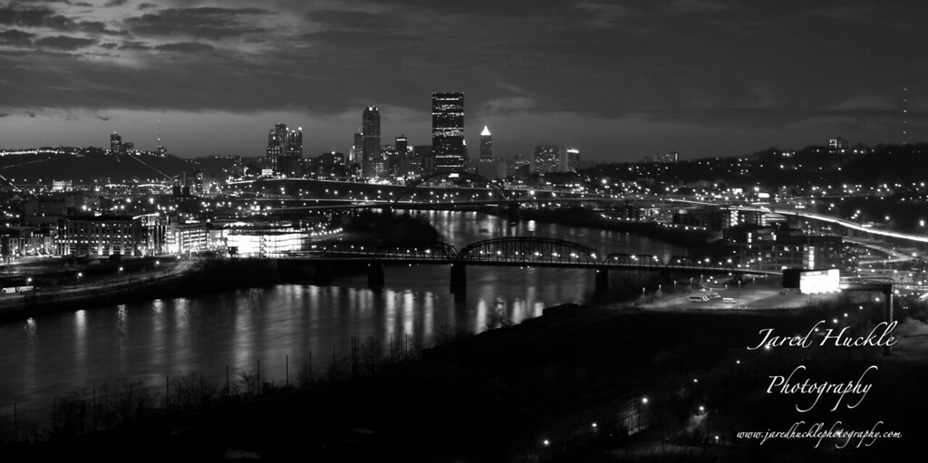 View from Greenfield, Pittsburgh PA