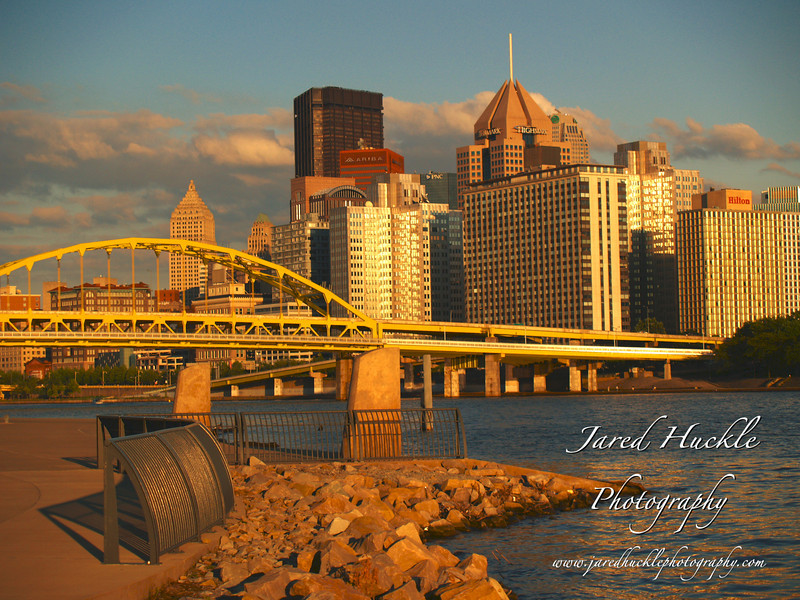 Downtown from the North Shore, Pittsburgh PA