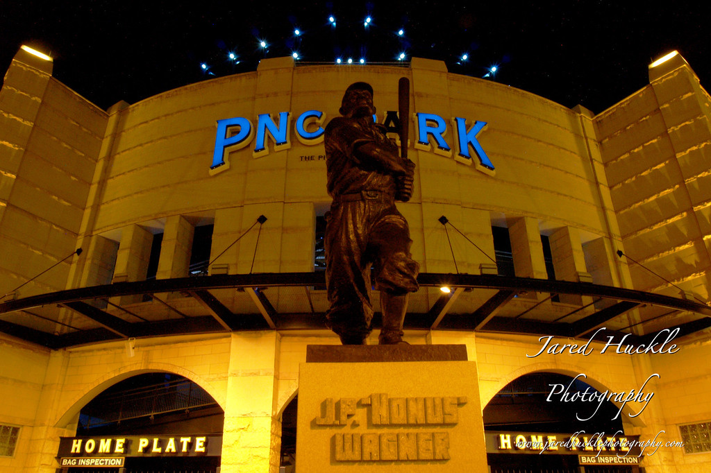 Honus Wagner statue, PNC Park, Pittsburgh PA