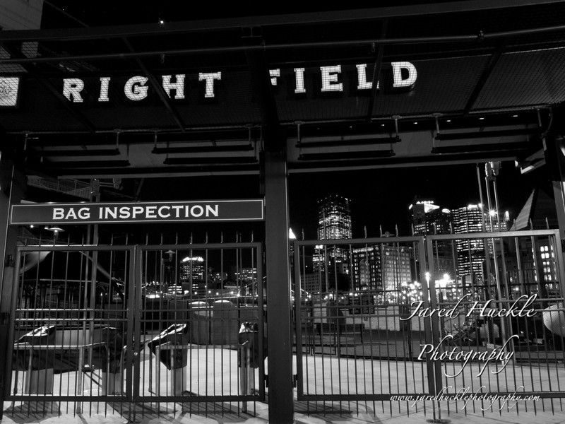 Right Field gate, PNC Park, Pittsburgh PA