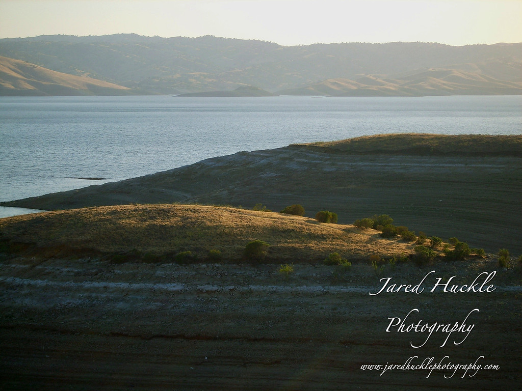 San Luis Reservoir, Central California