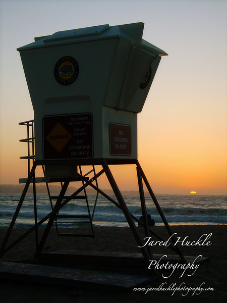 Lifeguard stand, Monterey, California