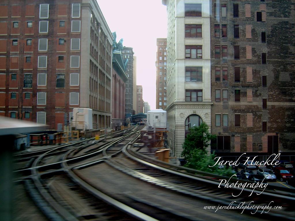 Elevated tracks, Chicago, Illinois