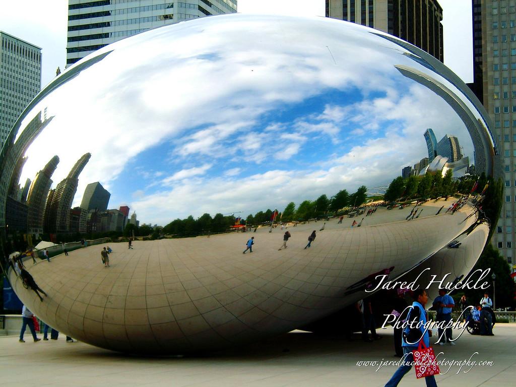 Cloud Gate (aka the bean), Millenium Park, Chicago, Illinois