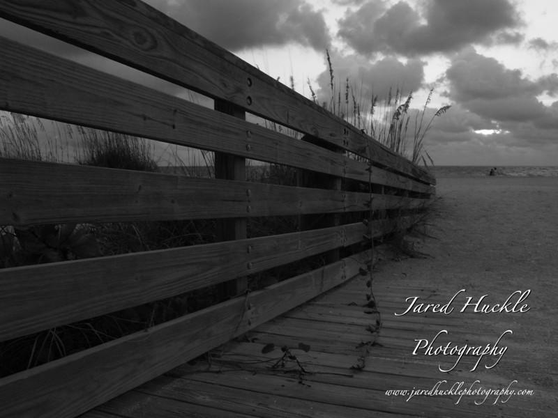 Wooden Railing, Belleair Beach, FL