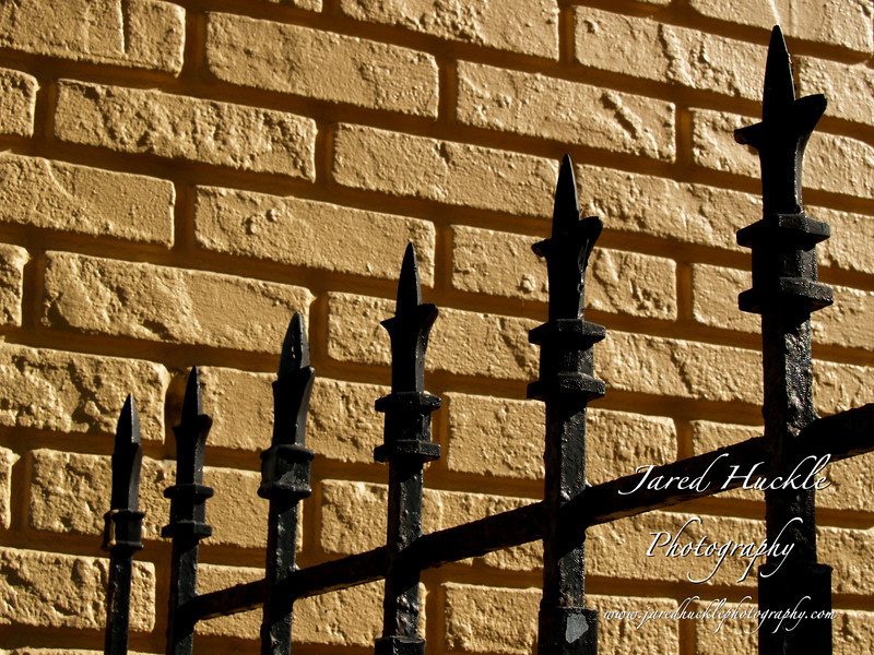 Fence and brick wall, Clearwater, FL