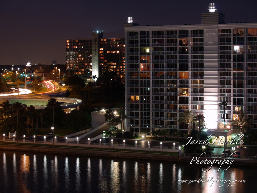 Apartment Building on Waterfront, Clearwater, FL