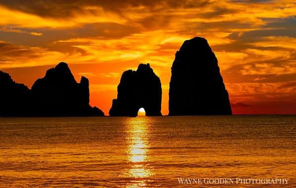 Lover's Arch Capri Italy