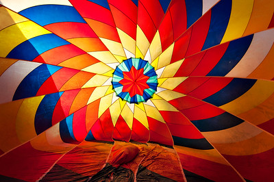Inside A Hot Air Baloon
