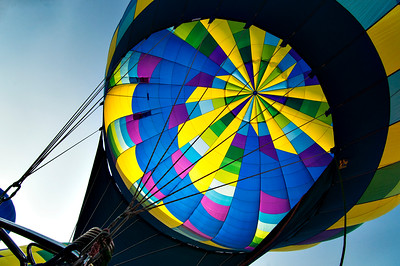 Top of the Hot Air Baloon