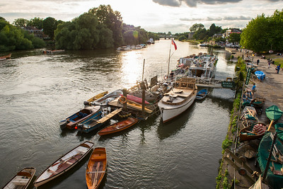 Sunset in Richmond upon Thames
