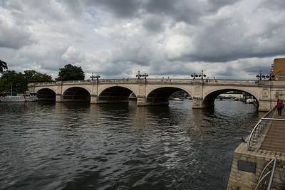 Kingston Bridge over Thames.