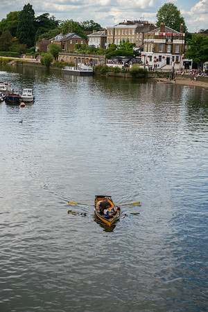 Richmond Boating on Thames River