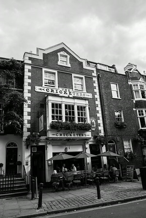 The Cricketers on the Richmond Green.