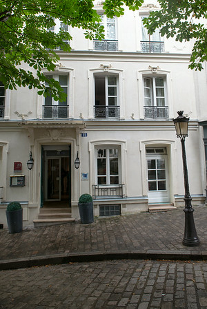 Our hotel in Montmatre.