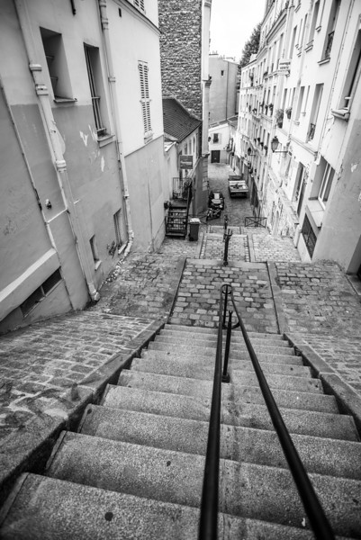 Steps in Montmartre