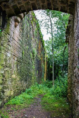 Castillo walls - San Sebastian
