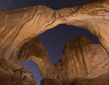 Double Arch Skyscape