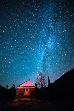 Cabin at the End of the Galactic Core