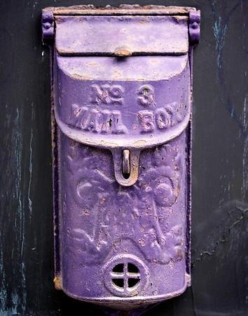 Purple Mailbox