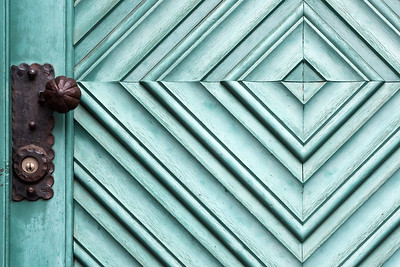 Diamond Pattern Door