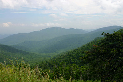 Skyline Drive 2005 Overlooks