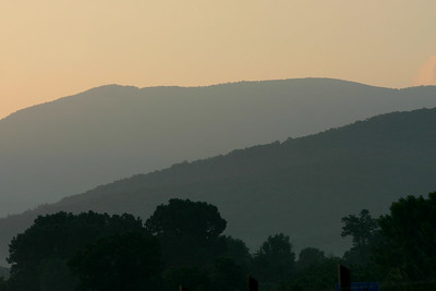 Skyline Drive Luray Sunrise