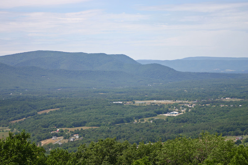 Shenandoah Valley MP 3<br /> elevation 1,390 feet
