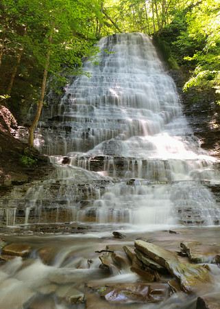 Grimes Glen Falls in Naples, NY