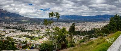 Ibarra, Ecuador. Pano
