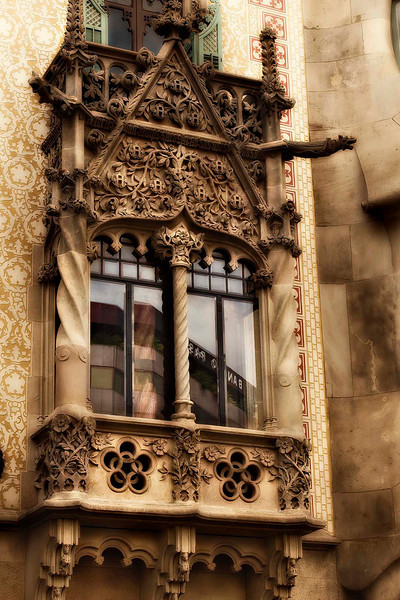 Casa Batllo (Antonio Gaudí and Josep Maria Jujol 1905), Barcelona, September 2010