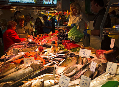 La Boqueria market, Barcelona, September 2010
