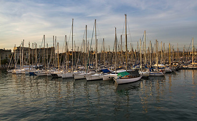 Barcelona, Port Vell, September 2010