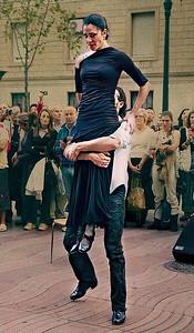 Flamenco at La Rambla, Barcelona, September 2010