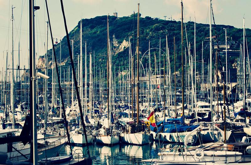 Barcelona, Marina Port Vell, September 2010