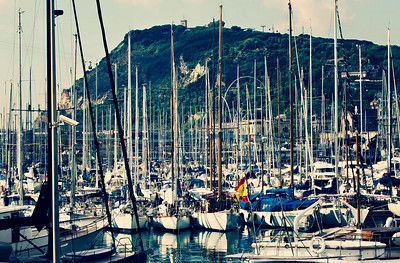 Barcelona, Marina Port Vell, September 2010
