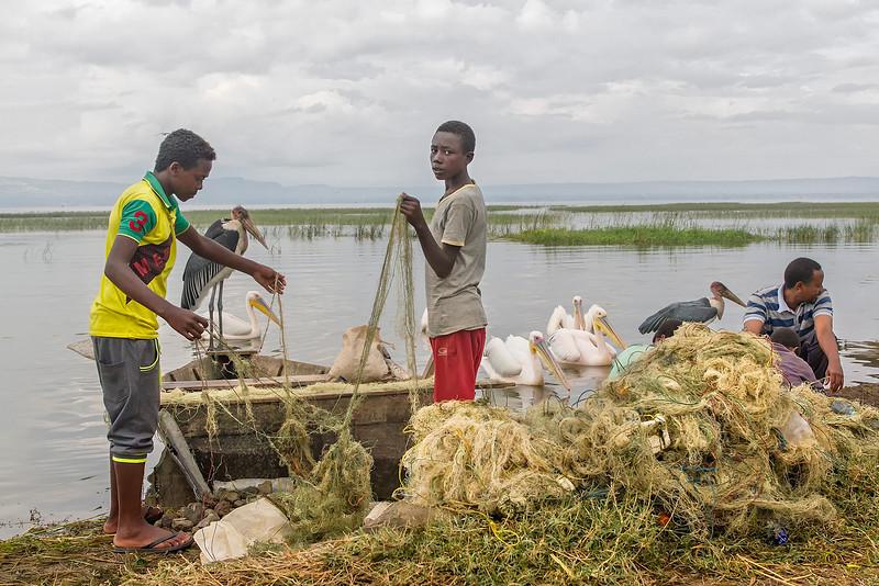 Fish Market at Awassa Lake