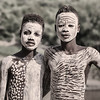 Boys from Karo tribe