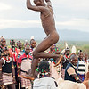 "Hamer Tribe, ceremony of  ""bull jumping"""