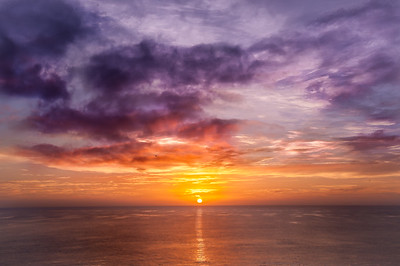 Sunrise at Towan Beach