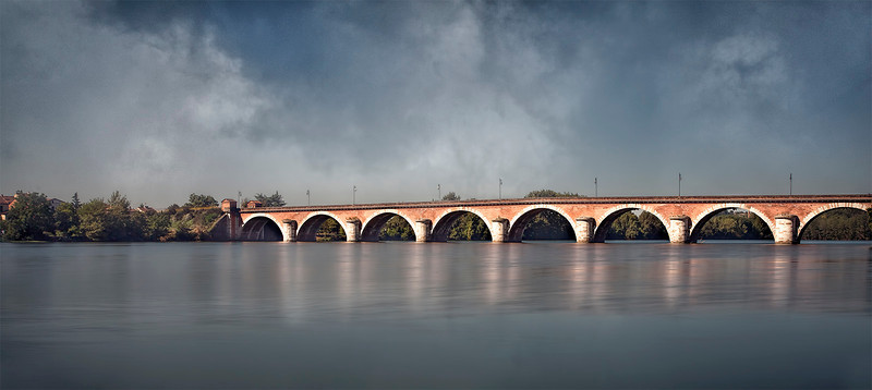 Moissac, Tarn River, Cahor Canal Bridge