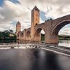 Cahors, Pont Valentré, September 2013