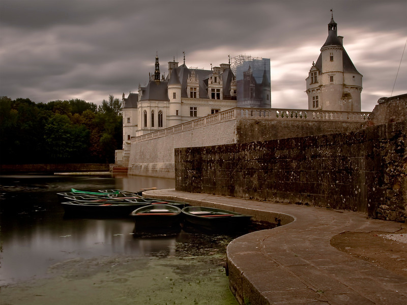 Chenonceau Castle, July 2011