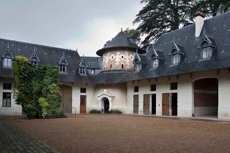 Chaumont-sur-loire Castle, Stables, July 2011