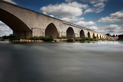 Beaugency, Beaugency Bridge, July 2011