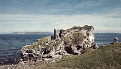 Kinbane Castle, July 2009