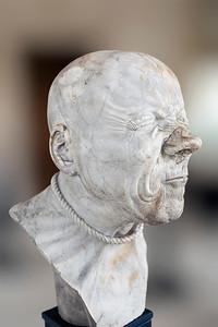 Franz Messeschmidt Heads, Vienna, Upper Belvedere, September 2014
