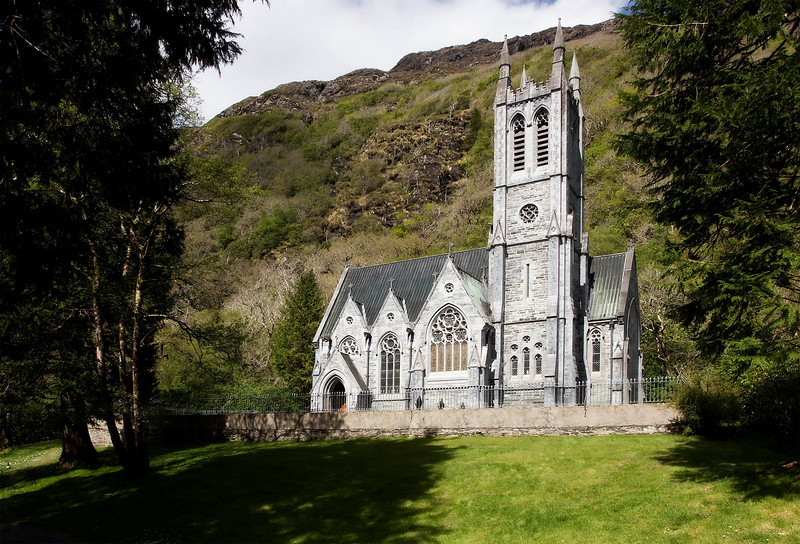 Kylemore Abbey, Gothic Church,  April 2011
